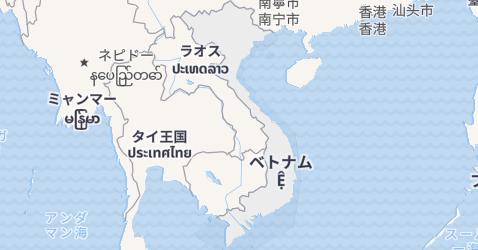 ヴィエトナム地図