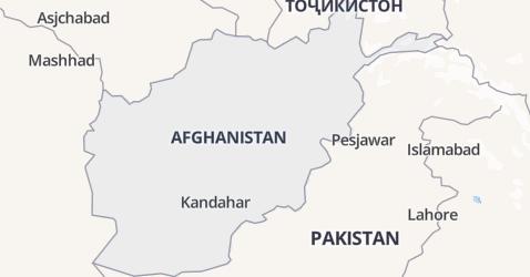 Afghanistan kaart
