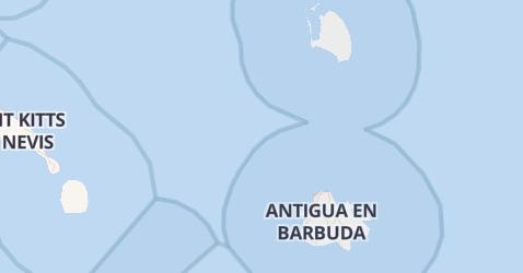 Antigua en Barbuda kaart