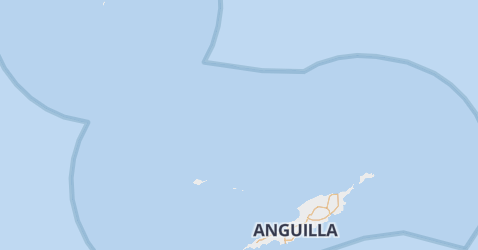 Anguilla kaart