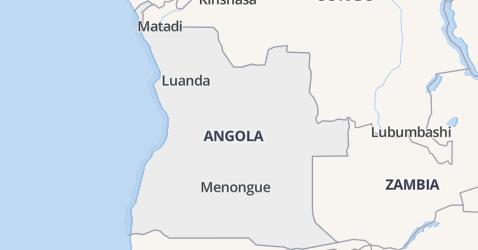 Angola kaart