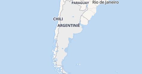 Argentinië kaart