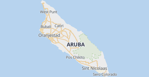 Aruba kaart