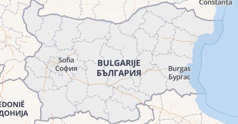 Bulgarije kaart