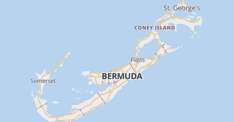 Bermuda kaart
