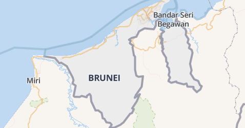 Brunei Darussalam kaart