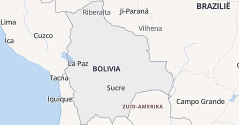 Bolivia kaart