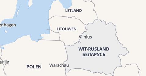 Wit-Rusland kaart
