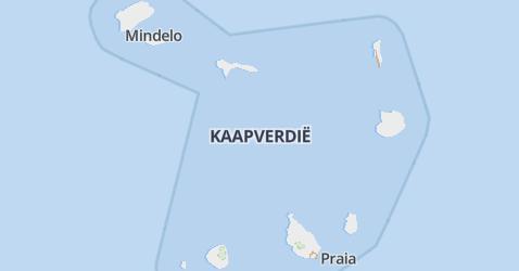 Kaapverdië kaart
