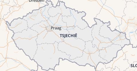 Tsjechië kaart