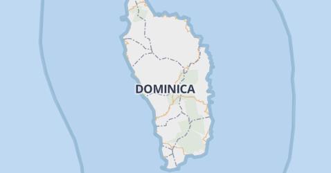 Dominica kaart