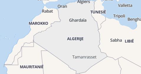Algerije kaart