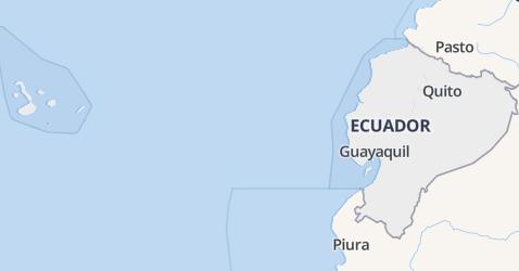 Ecuador kaart