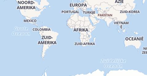 Fiji kaart