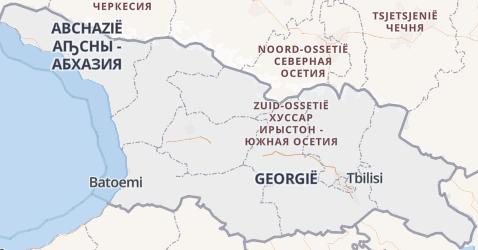 Georgië kaart