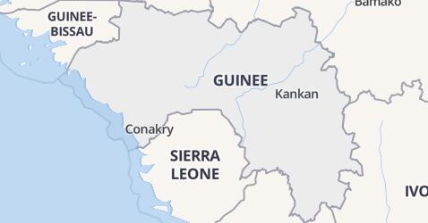 Guinea kaart