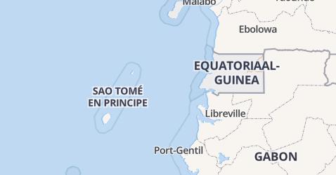 Equatoriaal-Guinea kaart
