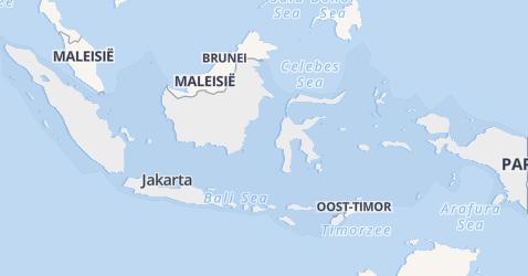 Republiek Indonesië kaart