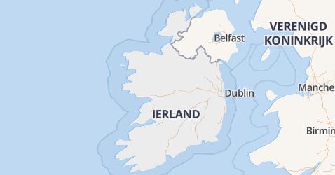 Ierland kaart