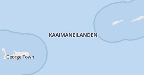 Caymaneilanden kaart