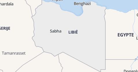 Libische Arabische Republiek kaart