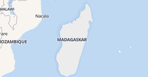 Madagaskar kaart