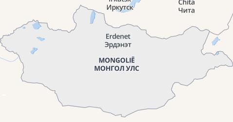 Mongolië kaart