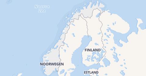 Noorwegen kaart