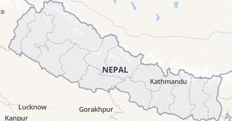 Nepal kaart