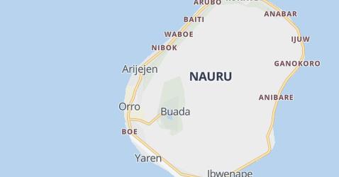 Nauru kaart
