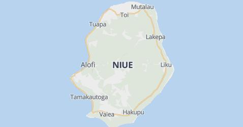 Niue kaart