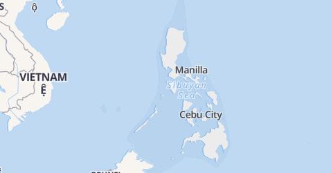 Filipijnen kaart