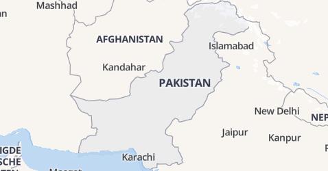 Pakistan kaart