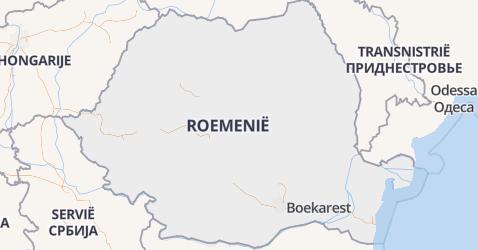 Roemenië kaart