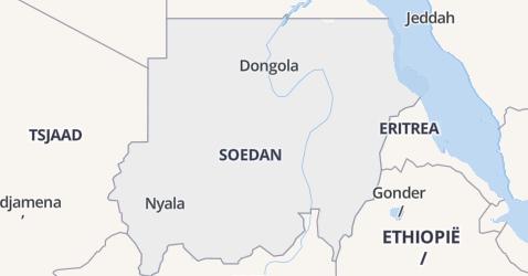 Soedan kaart