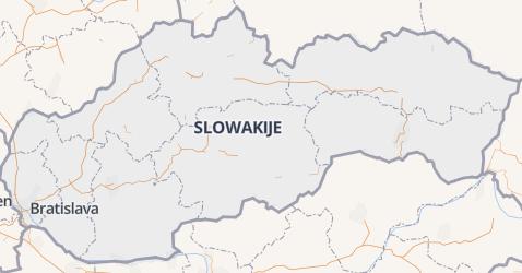 Slowaakse Republiek kaart