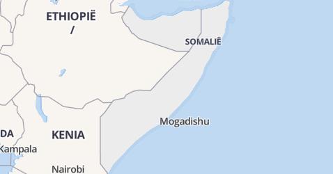 Somalië kaart
