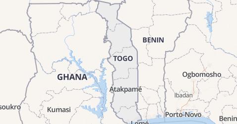 Togo kaart