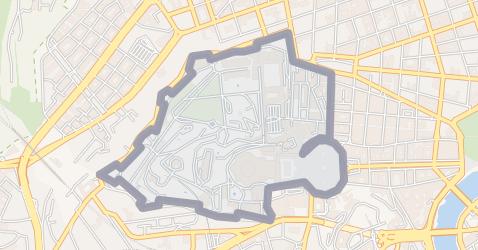 Vaticaanstad kaart