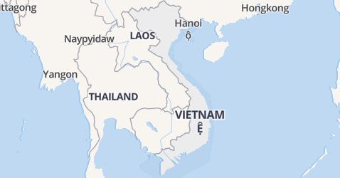 Vietnam kaart
