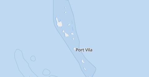 Vanuatu kaart