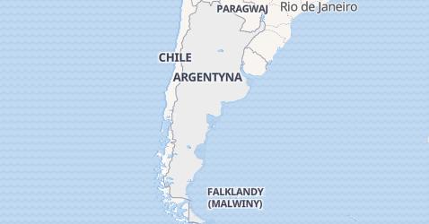 Argentyna - szczegółowa mapa