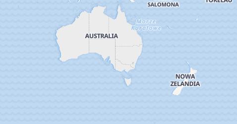 Australia - szczegółowa mapa