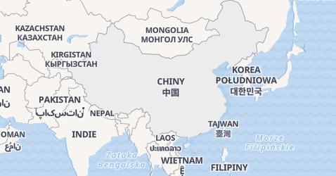 Chiny - szczegółowa mapa