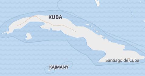 Kuba - szczegółowa mapa