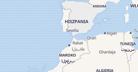 Hiszpania - szczegółowa mapa