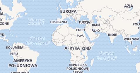 Wielka Brytania - szczegółowa mapa