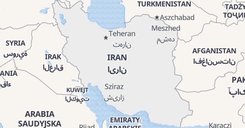 Iran - szczegółowa mapa