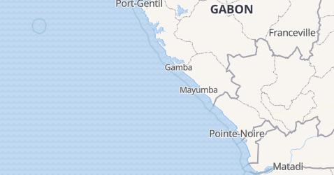 Kiribati - szczegółowa mapa