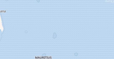 Mauritius - szczegółowa mapa